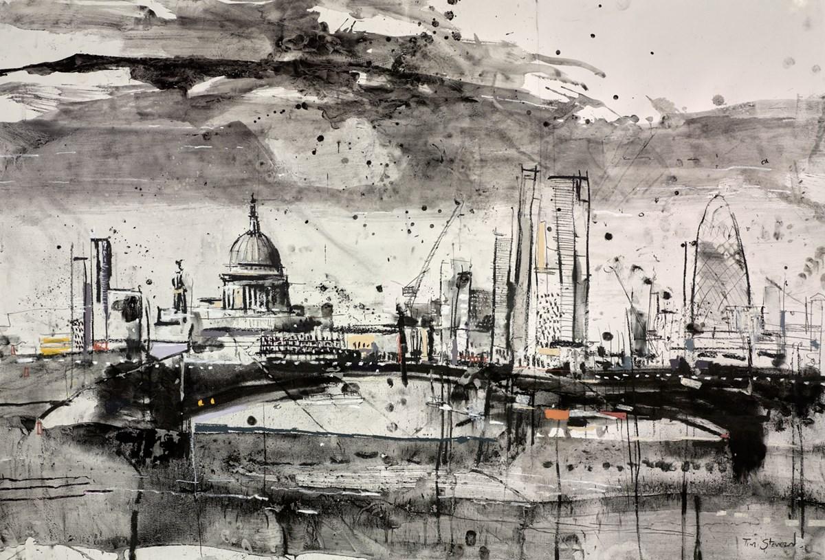 St Pauls and Waterloo Bridge V